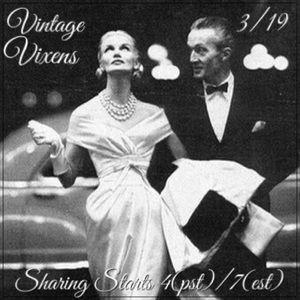 FRIDAY 3/19 Vintage Vixens Sign Up Sheet